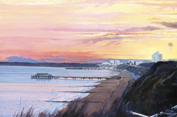 Bournemouth Bay Sunset
