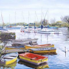 Christchurch Boats at Rest