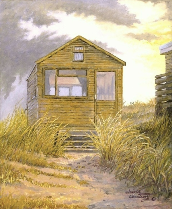 The Golden Beach Hut