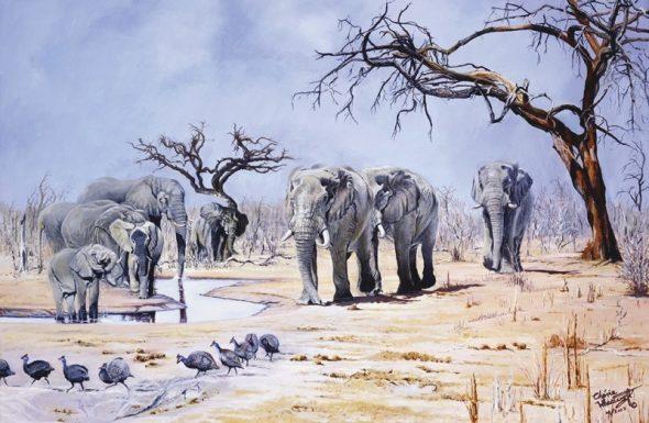 Make Way for the Elephants