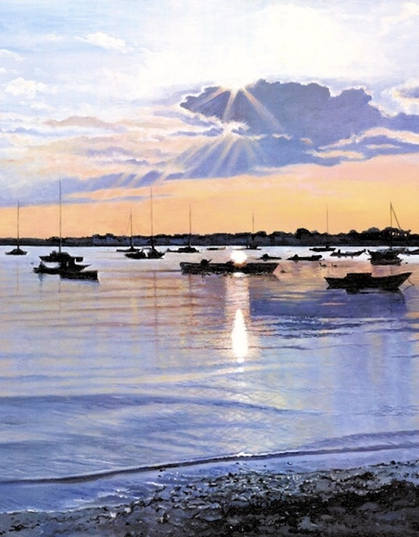 Mudeford Evening (portrait)