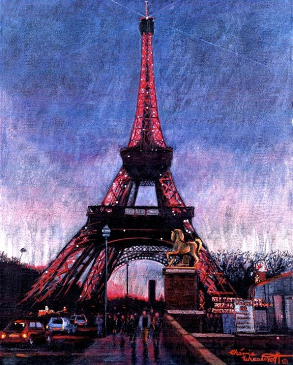 Eiffel Tower (Paris by Night collection)