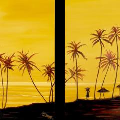 Tropics at Dusk (split)